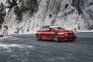 Bilder BMW Rot F22 M235i Autos
