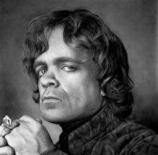 Hintergrundbilder Game of Thrones Mann Peter Dinklage Blick Schwarzweiss Kopf Tyrion Lannister Prominente
