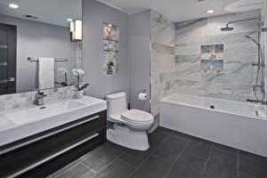 Fotos Innenarchitektur Design Badezimmer Toilette