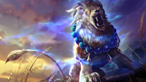 Pictures Lions Heroes of Newerth Roar Lion of Sol, Gemini Games Fantasy
