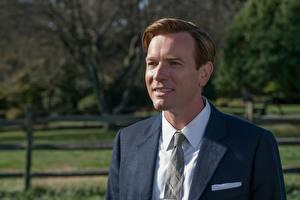 Photo Man Ewan McGregor Suit Beautiful American Pastoral Celebrities