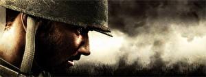 Bilder Soldat Militär Schutzhelm Hautnah Gezeichnet Seitlich Saving Private Ryan (1998) Film