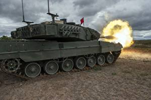 Images Tanks Leopard 2 Firing German