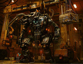 Wallpapers Technics Fantasy Robots