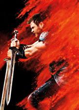 Fotos Thor: Tag der Entscheidung Chris Hemsworth Mann Schwert Film Prominente
