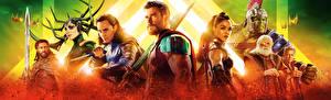 Fotos Thor: Tag der Entscheidung Chris Hemsworth Tom Hiddleston Krieger Tessa Thompson, Cate Blanchett, Mark Ruffalo, Jeff Goldblum Film Prominente