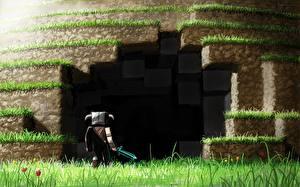 Pictures Warriors Cave Swords Minecraft, Alexelcapo vdeo game