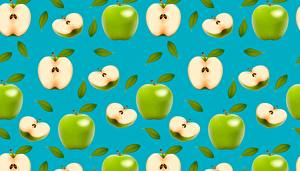Hintergrundbilder Äpfel Textur Grün Lebensmittel