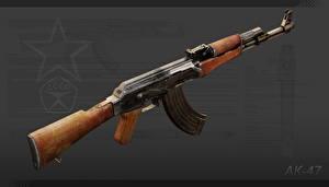 Fotos Sturmgewehr AK 47 Russisches