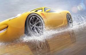 Hintergrundbilder Cars 3 Gelb