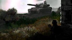 Papel de Parede Desktop Command & Conquer Generals - Zero Hour Tanque Jogos