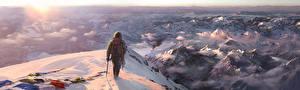 Bilder Far Cry 4 Gebirge Bergsteiger Spiele