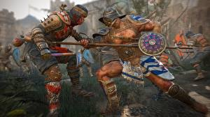 Pictures For Honor Fighting Warriors Spear Samurai gladiator Games