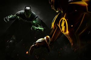 Pictures Heroes comics Batman hero The Flash hero Injustice 2 Games