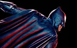 Pictures Justice League 2017 Batman hero Ben Affleck Cape Black background film