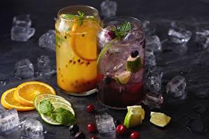 Wallpaper Lemonade Orange fruit Lime Drinks Ice Food