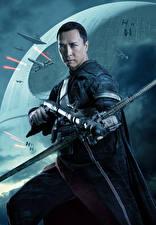 Bakgrundsbilder på skrivbordet Rogue One: A Star Wars Story Män Chirrut Imwe (Donnie Yen)