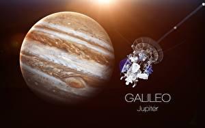Bilder Satellit Raumfahrt Saturn Planet Galileo Weltraum