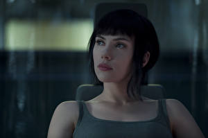 Wallpapers Scarlett Johansson Ghost in the Shell 2017 Movies Girls Celebrities