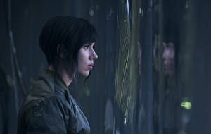 Pictures Scarlett Johansson Ghost in the Shell 2017 Side film Celebrities Girls