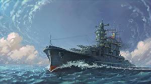 Photo Ship Painting Art Army