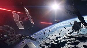 Photo Starship Star Wars: Battlefront II 2017 vdeo game