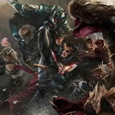 Photo Superman hero The Flash hero Superheroes Injustice 2 Fight Games Fantasy