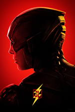 Pictures The Flash hero Justice League 2017 Head Side Ezra Miller Movies