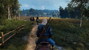 Fotos The Witcher 3: Wild Hunt Geralt von Rivia Weg 3D-Grafik