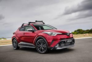 Bilder Toyota Rot 2017 C-HR with Toyota Genuine Accessories Autos