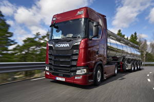 Photo Trucks Scania Red Riding S 650 automobile