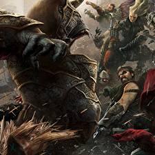 Фото Воины Монстр Несправедливость 2 компьютерная игра Фэнтези
