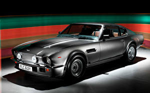 Fotos Aston Martin Antik Graues 1987-89 V8 Vantage X-Pack Autos
