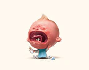 Fotos Junge Zunge