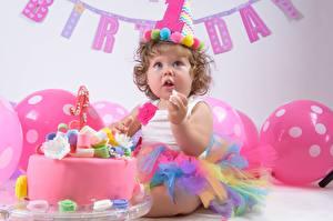 Picture Cakes Holidays Birthday Little girls Children