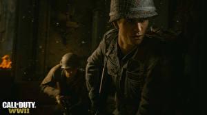Fotos Call of Duty: WWII Soldaten Militär Schutzhelm Spiele