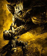 Hintergrundbilder Darksiders Krieger Monsters Spiele Fantasy