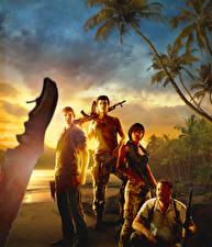 Wallpaper Far Cry 3 Men Assault rifle vdeo game