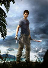 Image Far Cry 3 Pistols Young man Jason Brody Games