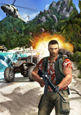 Image Far Cry Men Assault rifle vdeo game