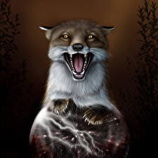 Pictures Foxes Sorcery Roar