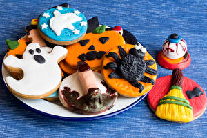Image Holidays Halloween Cookies Design Food