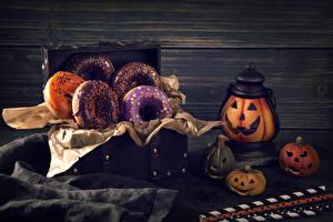 Images Holidays Halloween Baking Donuts Pumpkin Walls Food