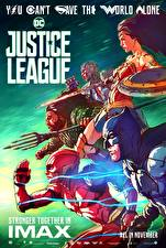 Wallpapers Justice League 2017 Wonder Woman hero The Flash hero Batman hero Gal Gadot film