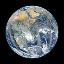 Hintergrundbilder Planeten Afrika Erde