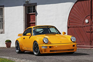 Bilder Porsche Gelb Metallisch 2017 DP Motorsport DP964 Project Yellow Autos