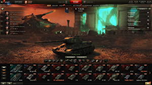 Wallpapers Tanks T-34 World of Tanks Russian Games