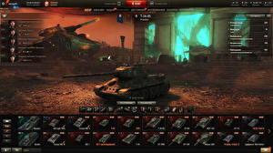 Sfondi desktop Carri armati T-34 World of Tanks Russi