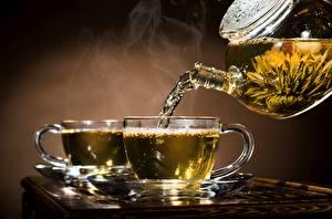 Hintergrundbilder Tee Flötenkessel Untertasse Tasse Dampf Lebensmittel