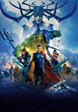 Fotos Thor: Tag der Entscheidung Hulk Held Chris Hemsworth Tom Hiddleston Krieger Jeff Goldblum, Idris Elba, Jeff Goldblum, Cate Blanchett Film Prominente